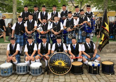 Lorient Pipe Band Brittany